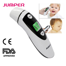 Infrared Digital Forehead and Ear Thermometer for Baby & Adults Fever Alarm Dual-Mode Non-Contact LCD Screen Bluetooth Optional