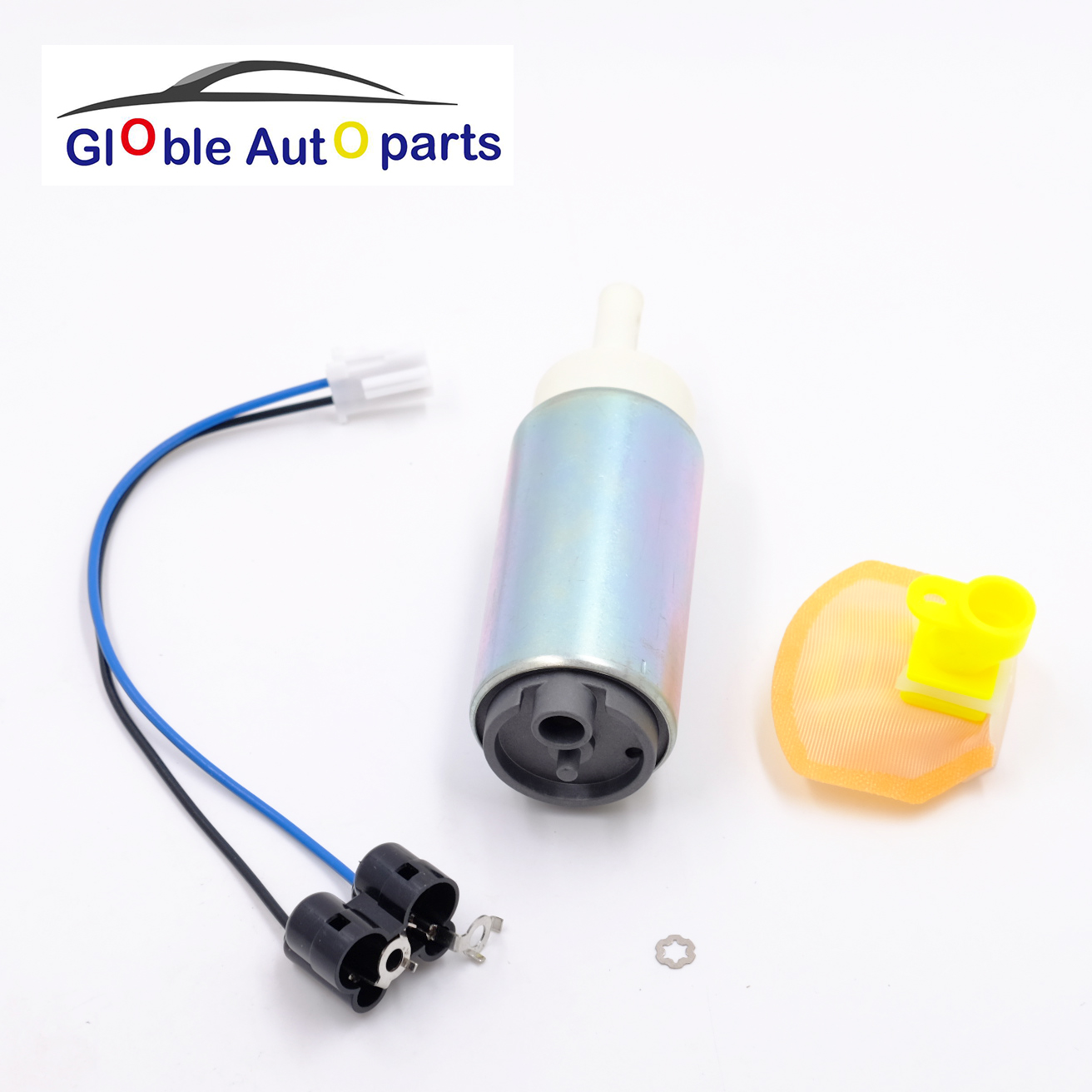 Replacement  Fuel Pump+Filter/Strainer For Honda 04-07 CBR 1000RR/03-06 600RR/CB1300 Suzuki 00-14 GSXR/02-12 V-Strom/99-12 Busa