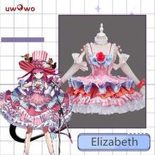 Fate Grande Ordine FGO Cosplay Costume Brave Elizabeth Bathory Fase Drago Vestito Da Partito di Cosplay del Costume Femminile di Danza Abiti