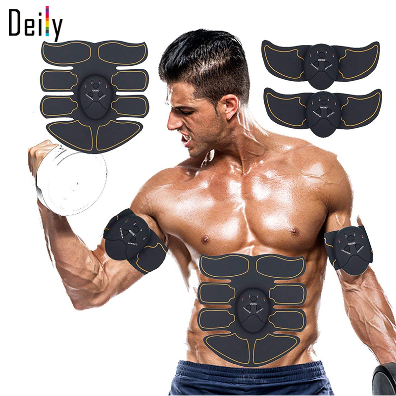 Abs Stimulator Muscle Trainer Ultimate Stimulator for Men Women Fitness Abs Muscle Training Gear Workout Equipment Portable image