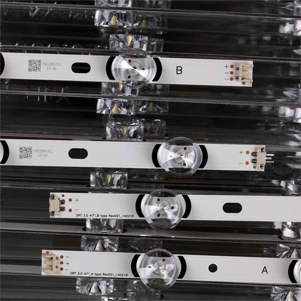"""8 Stuks X Led Backlight Lamp Strip Voor Lg 47 """"Tv Innotek Drt 3.0 47"""" 47LB6300 47GB6500 47LB652V 47lb650v LC470DUH 47LB5610"""