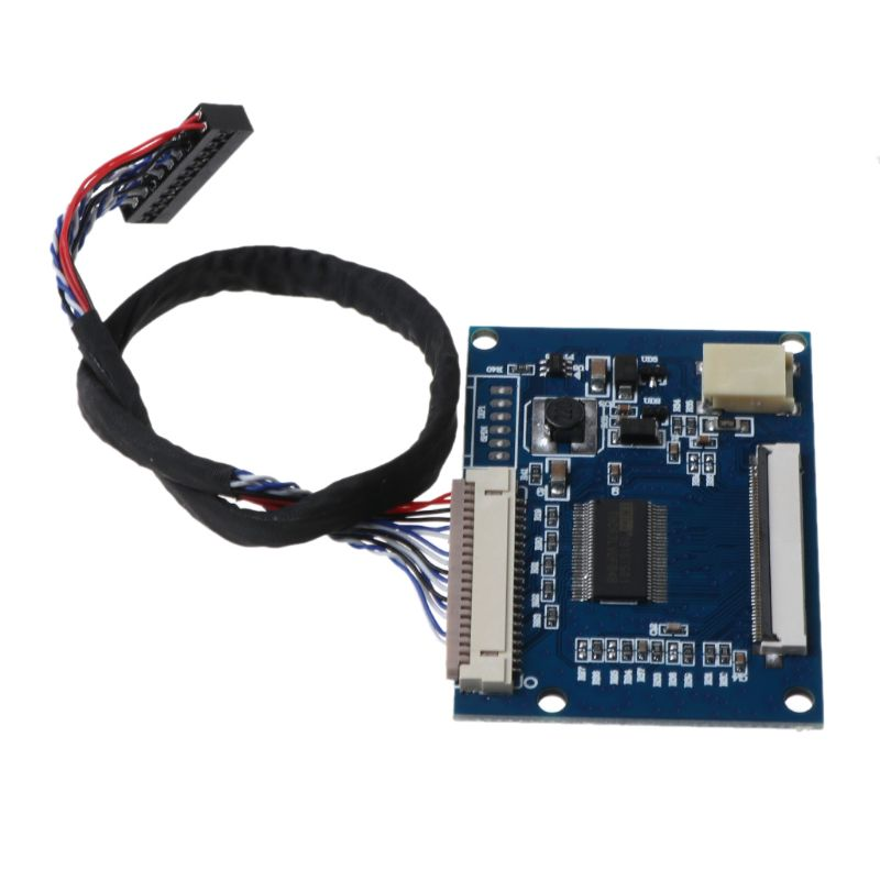 1Set Standard 20Pin 1-ch LVDS Input To 50Pin TTL Output Driver Board With Cable