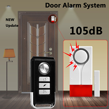 Home Security Door Window Magnetic Sensor Alarm Warning System Wireless Remote Control Door Detector Burglar Alarm