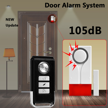 Home Security Door Window Magnetic Sensor Alarm Warning System Wireless Remote Control Door Detector Burglar Alarm цена 2017