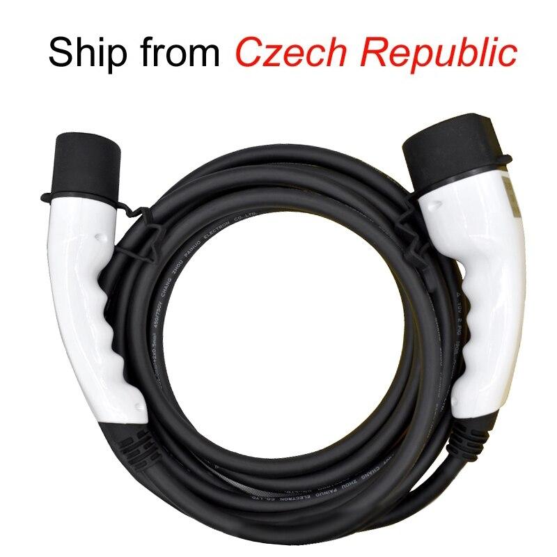 32a trifásico ev cable tipo 2a Tipo 2 EV cargador para vehículo eléctrico iec 62196 32a evse kit