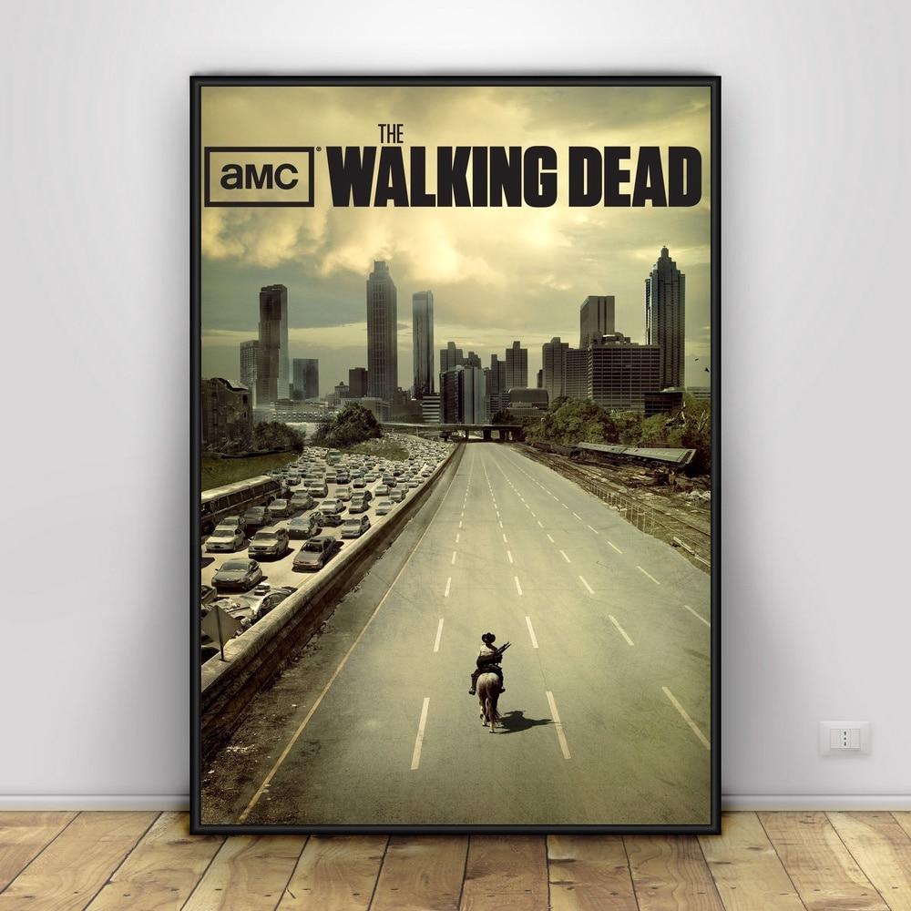The-Walking-Dead-Art-Silk-Poster-Home-Decor-12x18-24x36inch (2)