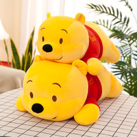 Creative down Cotton Pooh Bear Plush Toy Doll Bear Doll CHILDREN'S Pillow Birthday Gift