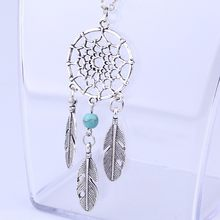 Kalung Hip Hop Perhiasan Accesorios Mujer Fashion Retro Perhiasan Dream Catcher Rantai Kalung Liontin Collares De Moda 2019(China)
