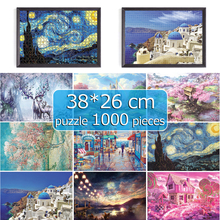 jigsaw puzzles 1000 for adults 38*26 cm Assembling picture Landscape puzzles toys for puzzle game adults puzzle 1000 pieces
