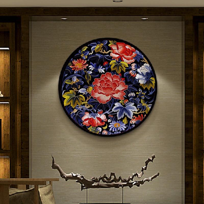 DIY 100% Mulberry Silk Suzhou Embroidery Sets Printed Patterns Needlework Kits Flower/fish Needle Arts Crafts Sewing Decro