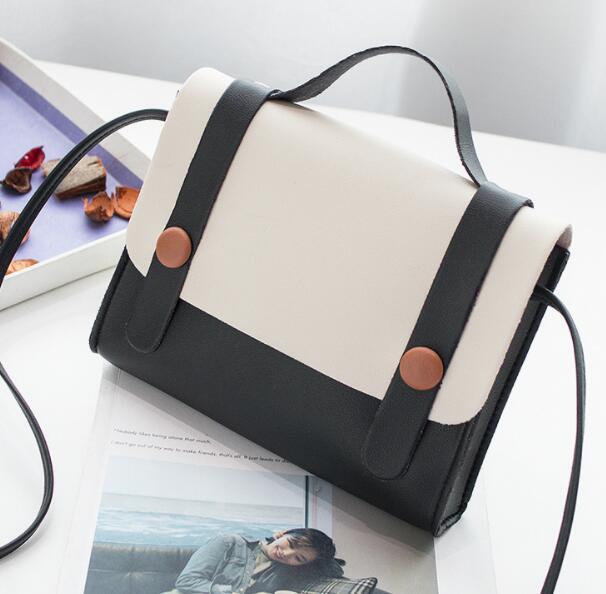 Nouveaux styles 2019 livraison gratuite Britt Simple Type de couverture de sac à bandoulière unique Pu sac à main