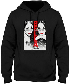 Men The Bella Twins Brie Bella And Nikki Bella Funny Novelty Women Printed Youth Hoodies & Sweatshirts фото