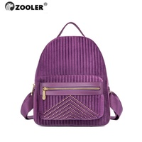 Fashion New fashion ZOOLER Brand travel backpack women school backpack female backpack Cotton packpack women bag tote bags LT213
