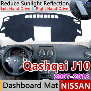 for Nissan Qashqai J10 2007 2008 2009 2010 2011 2012 2013 Anti-Slip Mat Dashboard Cover Pad Sunshade Dashmat Carpet Accessories