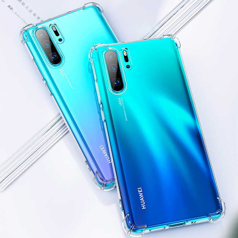 Airbag Case For Huawei Mate 30 Pro Nova 5 Pro 5i Y7 Y9 Prime P20 Lite 2019 P30 Honor 9X 20 Pro 8S 8C Shockproof Soft TPU Cover
