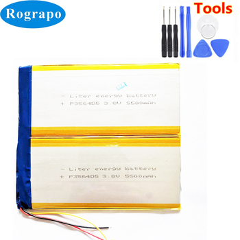 New 3.8V Li-Polymer ID:C2D7 Replacement Battery For Teclast X98 Plus II 2 Accumulator Batterie 3-wire +tools battery for xiaomi mi band 2 wristband li polymer rechargeable accumulator pack replacement 3 7v with 2 lines