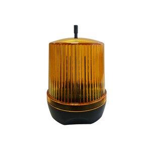 Uniwersalny 24V AC/DC 230VAC LED Signal lampa alarmowa stroboskopowa migająca awaryjna lampka ostrzegawcza do montażu ściennego do automatycznego otwieracz bramy