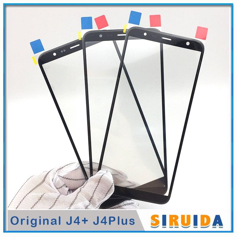 50Pcs พร้อม OCA สำหรับ Samsung Galaxy J4 Plus J4plus J4 + J415 SM J415 LCD หน้าจอสัมผัสด้านหน้าด้านนอกเปลี่ยนเลนส์กระจก-ใน แผ่นกันรอยหน้าจอโทรศัพท์ จาก โทรศัพท์มือถือและการสื่อสารระยะไกล บน AliExpress - 11.11_สิบเอ็ด สิบเอ็ดวันคนโสด 1