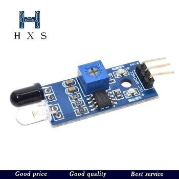 Samochód zdalnie sterowany odblaskowy fotoelektryczny moduł 3pin na podczerwień czujnik unikania przeszkód dla zestawu Diy