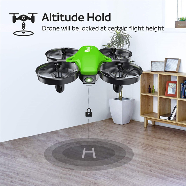 Potensic A20 Mini Drone for Kids Beginners Easy to Fly Headless Mode RC Helicopter Quadcopter Remote Control With 3 Batteries 6