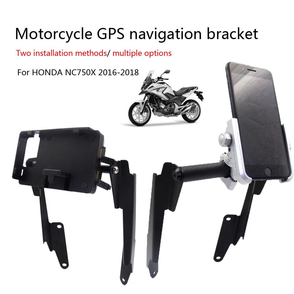 NEW Motorbike GPS Phone Navigation Bracket Holder For HONDA CB500X 2016-2018
