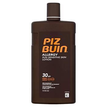 Piz Buin - Protección Solar Loción alergia SPF 30 - Protección alta...