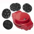Мини-вафельница  мульти-опционально  электрическая машинка для торта  антипригарные съемные тарелки  пончики  сковорода  кексы/вафли/такояк...