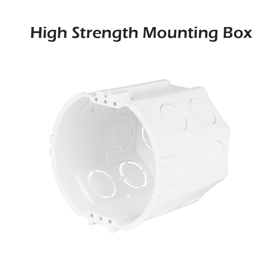 Minitiger Hot Sale 73*62MM EU European Standard Cassette Universal Wall Mounting Box For Wall Switch And Socket Back Box Pop