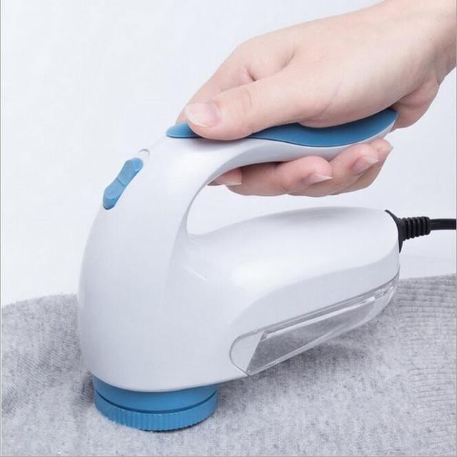 Electric Cloth Sweater Curtains Mat Clothes Lint Remover Fuzz Pills Razor Fluff Pellets Cutting Machine