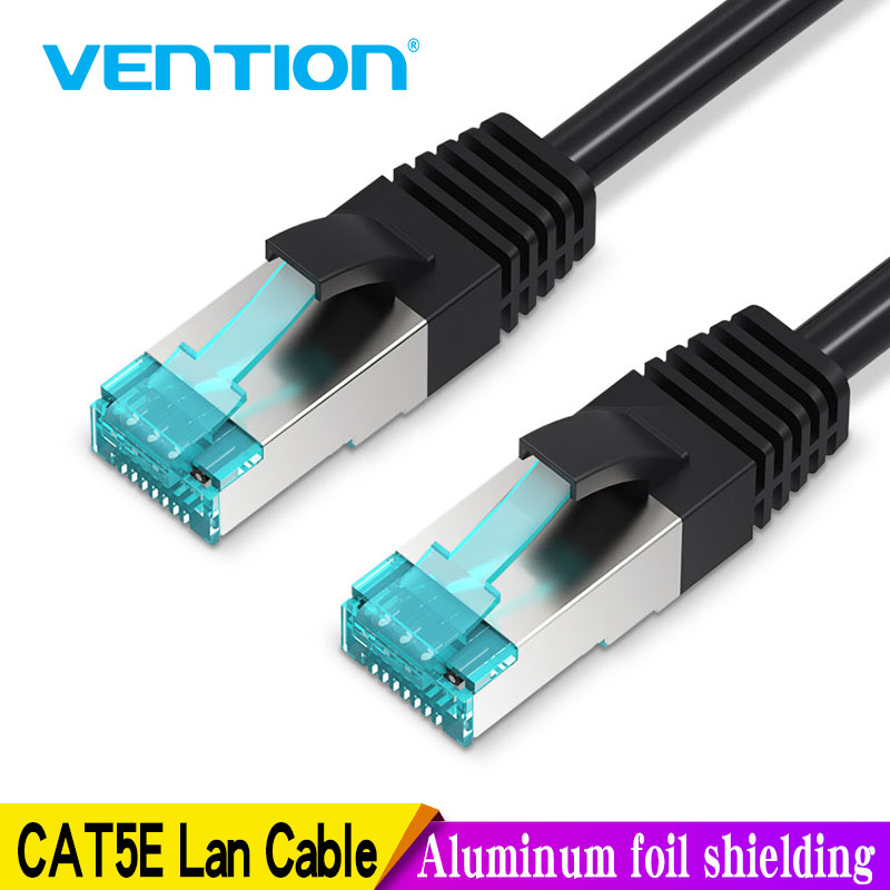 Vention Ethernet Cable Cat5e Lan Cable Cat 5 RJ45 Network Patch Cable 1m 2m 3m 5m 10m 15m 20m 40m 50m For Computer Router Cable