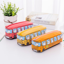 Creative car pencil bag large capacity pencil case boys and girls students party bus stationery bag pencil bag Kawaii pencil bag 1pcs korean creative stationery bus pen bag car pencil bags large capacity stationery pencil case student supplies for girl