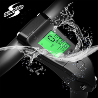 Bicycle Stem 31.8mm 120mm MTB mountain Road bike ultralight handlebar stem waterproof stopwatch Wired Bicycle Computer English