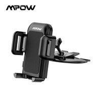 Mpow-Soporte de coche con agarre Pro Universal, soporte de montaje para la cuna del coche, para iPhone X/8/8Plus/7/7Plus/6s/6P Galaxy S5