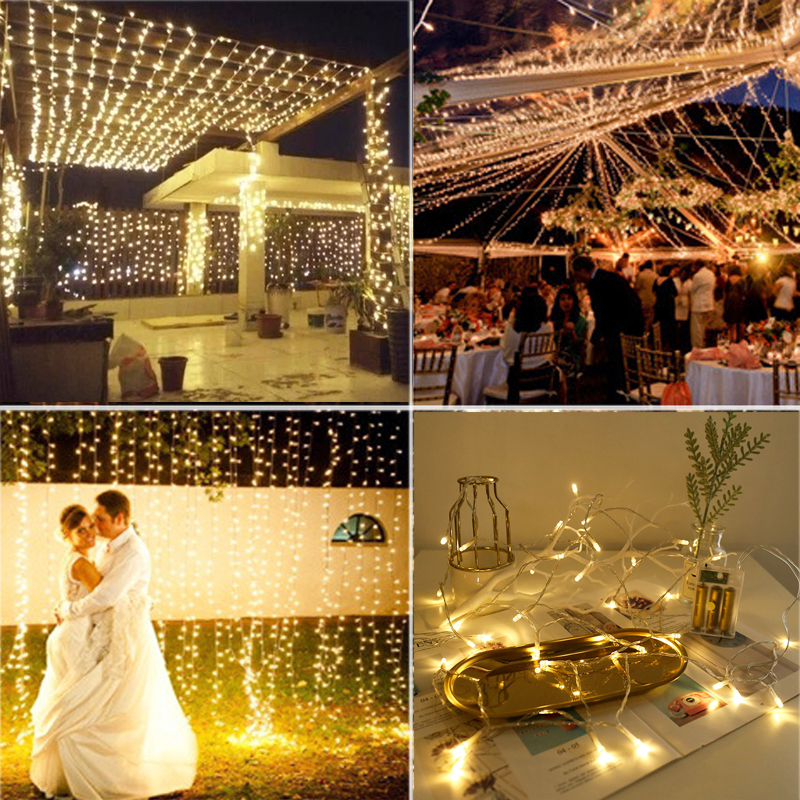 3M 10M 20M 30M 50M 100M LED String Fairy Lights Christmas led string lights garland for home wedding party xmas new year decor Pakistan
