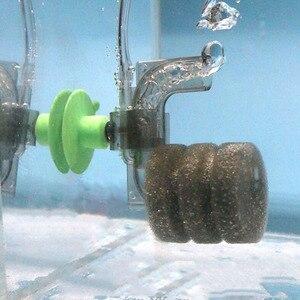 Aquarium Filter Fish Tank Shrimp Pond Air Pump Biochemical Sponge Filter Bio Sponge Filter Miniature filtro aquario Pet products(China)