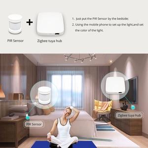 Image 4 - Tuya Zigbee Smart Gateway Hub Smart Home Brug Smart Leven App Alexa Google Home Staat Met Zigbee 3.0 Security Sensor schakelaar