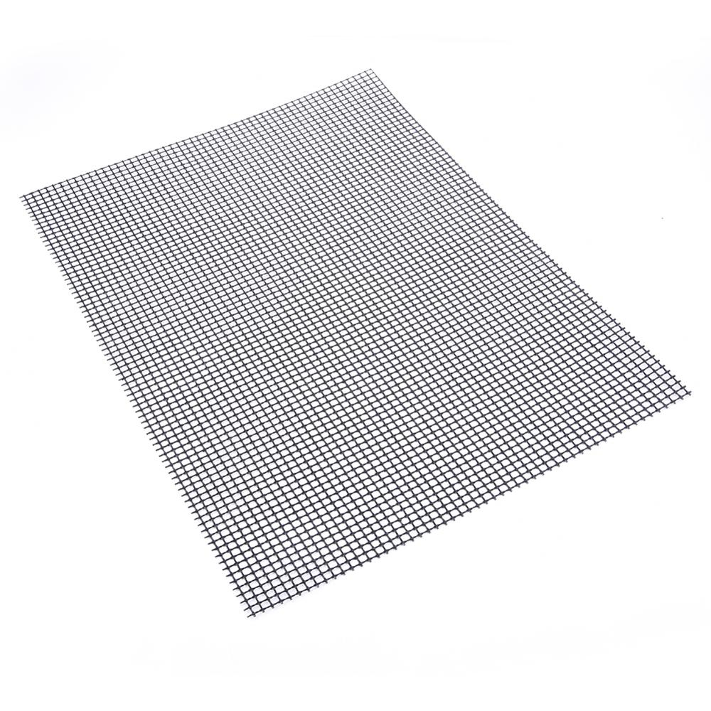 Non-Stick Barbecue Grilling Mats in Grid Shape with Heat Resistance for Outdoor Activities