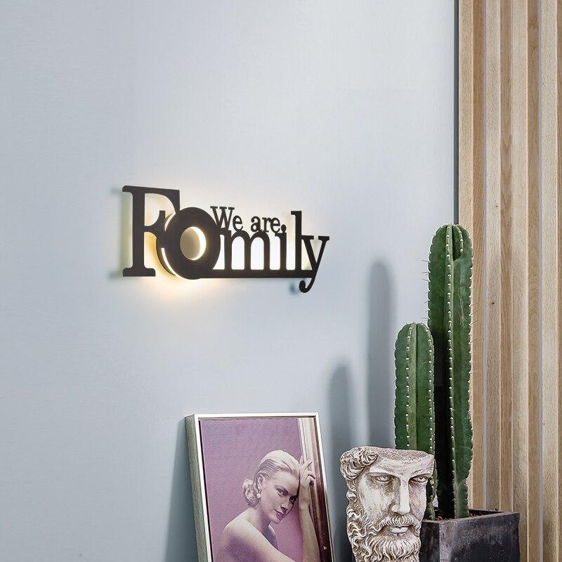 DL marque mur LED lampe éclairage intérieur salle de bain lampe LED escalier lumière chambre lampe de chevet moderne décoratif applique - 6