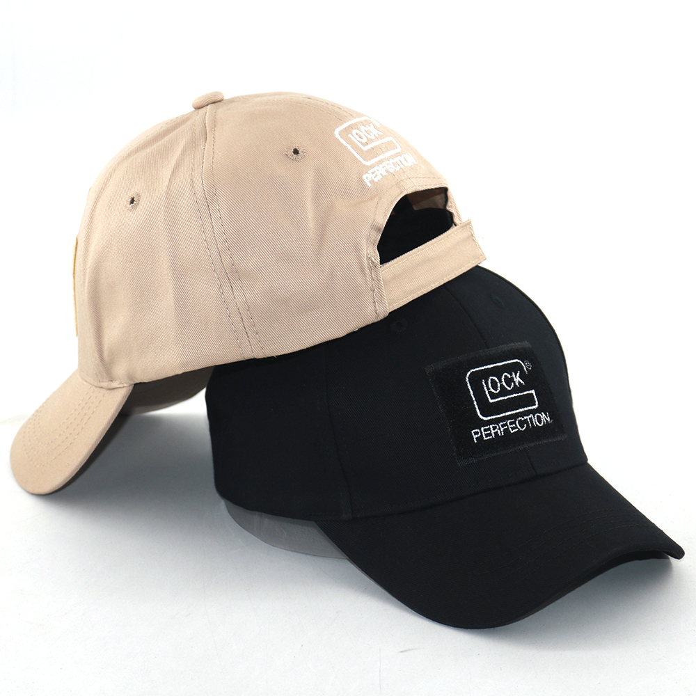 Explosion Glock Shooting Sports Baseball Cap Cotton Embroidery Tactical GLOCK Fishing Hats Outdoor Fashion Hiking Caps Unisex