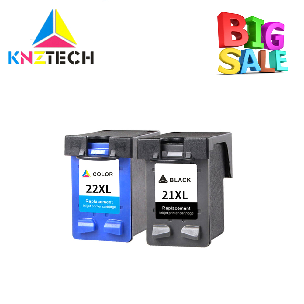 21XL 22XL Ink <font><b>Cartridges</b></font> compatible for <font><b>hp</b></font> <font><b>21</b></font> <font><b>22</b></font> replace for hp21 DeskJet F300 F310 F325 F335 F340 F350 F370 F380 F385 F390 image