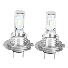 цена на High Power DRL Lamps H7 LED Replacement Bulbs for Car Fog Lights Daytime Running Lights