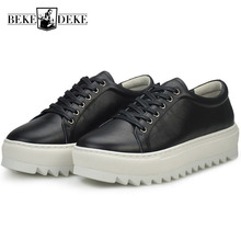 New Mens Thicken Platform Creeper Casual Shoes Hip Hop Stage Show Footwear Antis