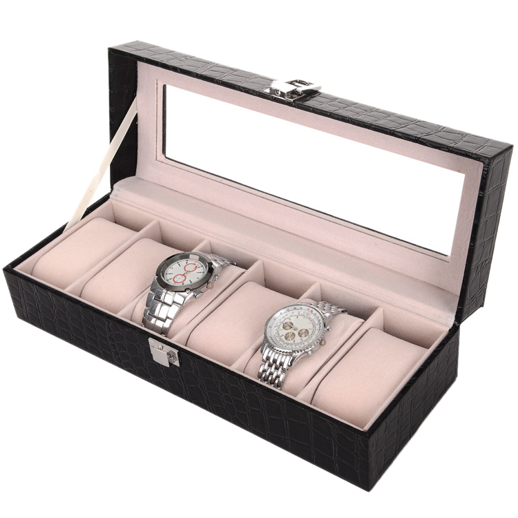 Crocodilo jóias caixa de armazenamento caixa de