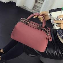 купить 2018 Women Fashion casual Boston handbags women evening clutch messenger bag ladies party famous brand shoulder crossbody bags по цене 1783.94 рублей