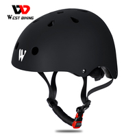 West biking capacete de segurança para crianças  proteção multiesportiva para bicicleta  ciclismo  skate  scooter