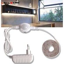 Unter Schrank Led-leuchten mit Motion Sensor Closet Licht Led-streifen 12V Wasserdicht Schrank Schrank Bett Lampe 220 EU netzteil