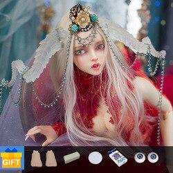 FeePle65 Sylvia Doll BJD 1/3 Fashion cute Dolls Resin Figure Toys For Girls Best Gift Doll Chateau