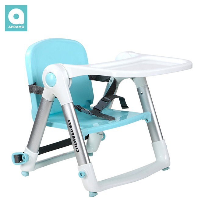 UK Apramo Antumi Children's Dining Chair Portable Folding Baby Dining Out Folding Dining Chair Flippa