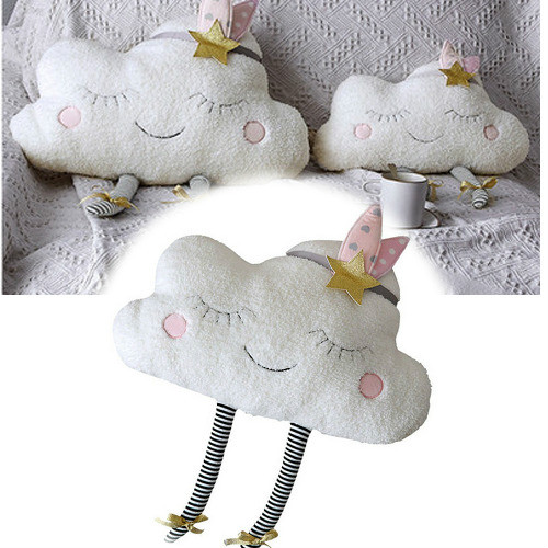 Emmababy Creative Cloud Shaped Plush Stuffed Pillow Bed Cushion Toys Home Sofa Car Decor