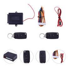 Sistema de alarma para coche antirrobo con entrada sin llave, sistema de seguridad de cerradura Central remota